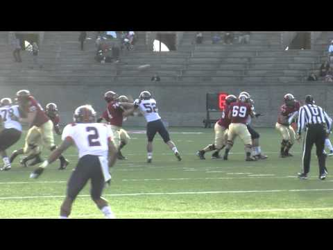 Kyle Juszczyk 59-yard touchdown vs Bucknell 2012 video.
