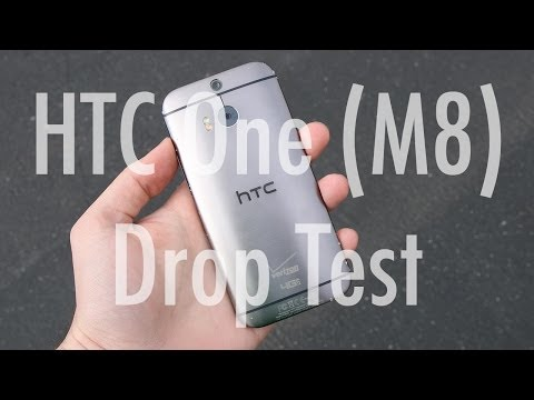 HTC One (M8) drop and water test