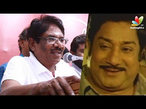 Bharathiraja-Speech--Sivaji-Ganesan-call-me-as-Kaattaan-Kutra-Parambarai-Movie-Pooja
