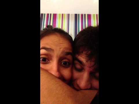 Somos lindos. Pedro Franch e Carolina Meleiro