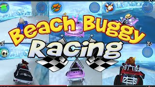 6 PLAYER splitscreen XBOX ONE Beach Buggy Racing GAMEPLAY (Whole Tournament)