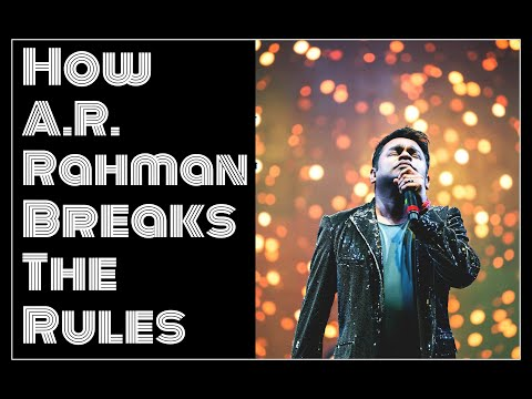 How A.R. Rahman Breaks The Rules - Maro Maro Song Analysis