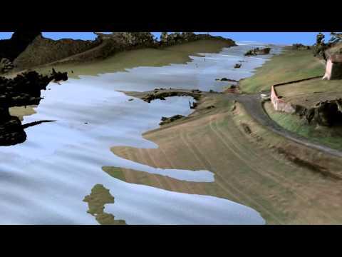Simulation d'inondation