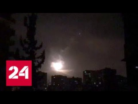 Молния ВС США Франции и Великобритании нанесли авиаудары по объектам в Сирии - Россия 24 - DomaVideo.Ru