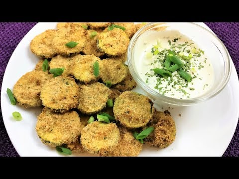Quick And Easy Air Fried Zucchini Bites Made In The Power Air Fryer Oven