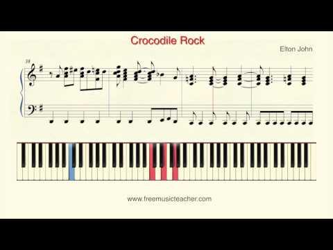Crocodile Rock - Elton John video tutorial preview