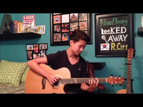 Locked Away -  Adam Levine - Fingerstyle Guitar