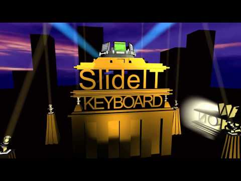 Video of SlideIT Google Skin