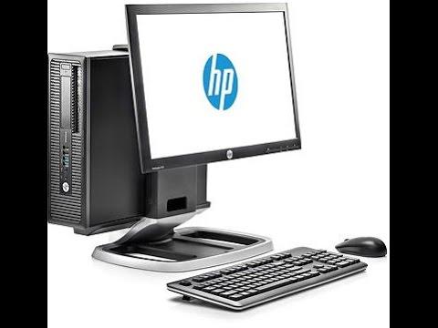 HEWLETT PACKARD WORKSTATION: Intel Core i5 ProDesk, ProDisplay P222va, OfficeJet Pro 8610