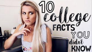 In this video I talk about the things people don't tell you about college and overall the facts about college that you didn't know!  This is another video in my college advice series and I hope it helps you out!Shop what I'm wearing:Tank: http://go.magik.ly/ml/5f3y/Dangle Choker: http://go.magik.ly/ml/5f40/Horn Choker (similar): http://go.magik.ly/ml/5f42/Follow me:Instagram: tasha.farsaciSnapchat & Twitter: tashafarsaci Check out the articles I referenced:https://www.theodysseyonline.com/15-things-they-dont-tell-you-about-collegehttps://www.theodysseyonline.com/things-they-dont-tell-about-collegeFor business promotions only, email me: fiercelytasha@yahoo.com