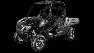 10. 2016 Arctic Cat HDX 700 XT EPS Black