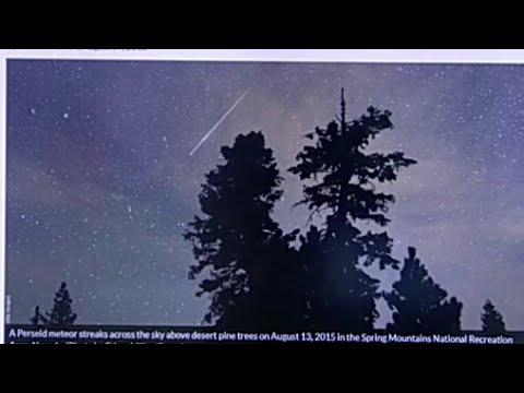Perseid meteor shower coming this weekend