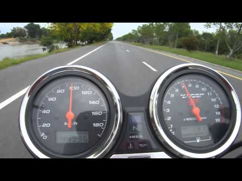 HONDA CB4 HYPER VTEC SPEC 2 TOP SPEED