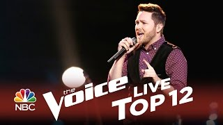 Luke Wade+  Thinking Out Loud    Top 12 The Voice 2014 USA  + Season 7