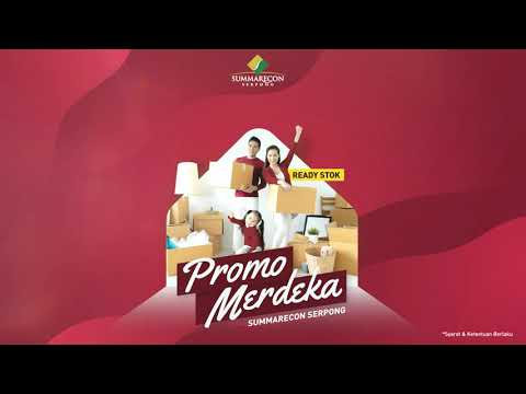PROMO MERDEKA SUMMARECON SERPONG 2020