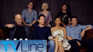 "At Comic-Con 2017, Michael Ausiello chats with Thandie Newton, Ed Harris, and more ""Westworld"" cast members--along with exec producer Jonathan Nolan--about fan theories and confusion. ► http://bit.ly/TVLineSubscribehttp://tvline.comFollow Us On SocialTwitter http://twitter.com/MichaelAusiello, http://twitter.com/TVLineFacebook http://www.facebook.com/pages/TVLineGoogle+ http://plus.google.com/+TVLine"
