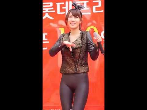 韓國正妹藝人穿太緊 !! 下體形狀一清二楚!
