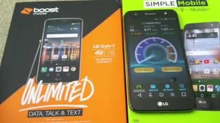 LG Fiesta LTE vs LG Style 3 Speed Test + Speaker Sound Test Full HD 2017! Unboxing LG Fiesta LTE:...