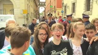 Anche gli studenti di Capua (CE) sostengono il Tour ANMIL
