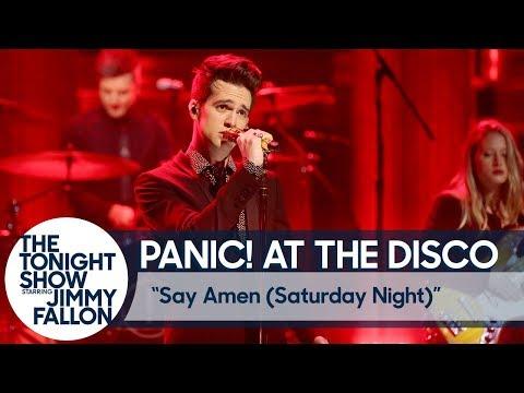 Panic! At The Disco: Say Amen (Saturday Night) (видео)