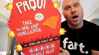 Video WORLD'S HOTTEST CHIP CHALLENGE! (Carolina Reaper Pepper Chip) MP3, 3GP, MP4, WEBM, AVI, FLV Oktober 2018