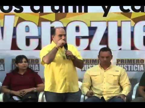 Intervención de Julio Borges Acto de Incorporaciones Exmilitantes del PSUV a Pj