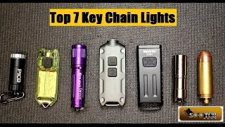 The Top Key Chain Flashlights. We look at 7 different key chain lights from simple to highly sophisticated. Light is your number 1 Security Tool! Big thanks to Going Gear! Going Gear: 10% Sootch00 Discount plus $49 or more gets free Shipping!  http://goinggear.com/sootch00/keychain-lightsYou can support the SensiblePrepper Channel at Patreon.com https://www.patreon.com/Sootch00  Thanks! Thanks For Watching~ Sootch00Music is from Jingle Punks Royalty Free Music through the Fullscreen Network. Used with permission.