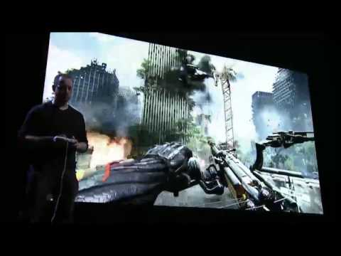 crysis 3 e3 gameplay demo - The hunted becomes the hunter. Powered by Crytek's CryENGINE® 3, Crysis 3 advances the state of the art with unparalleled visuals and dynamic shooter gamepla...