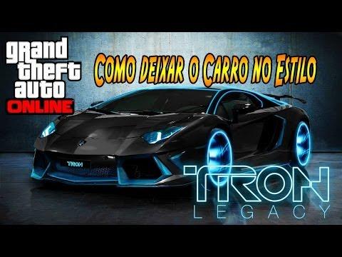 GTA V ONLINE  COMO DEIXAR O CARRO NO ESTILO DO FILME