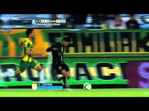 Gol de Viatri. Aldosivi 2 – Banfield 3. Final Liguilla Pre Sudamericana 2015