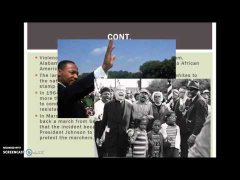 The Second Reconstruction Civil Rights Movement