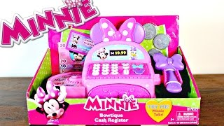 Hi!Today I am showing you the Disney Minnie Mouse Bowtique Cash Register!Hope you enjoy it!ToyClub