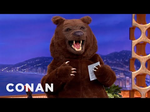 Conan - Wild Bear Hijacks Conan's Show