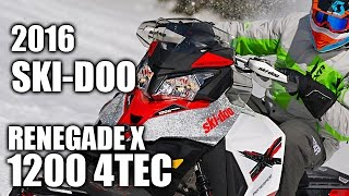 8. TEST RIDE: 2016 Ski-Doo Renegade X 1200 4TEC