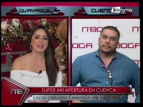 Super Akí apertura en Cuenca local con una extensión de 1600 M2