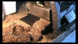 Homemade Tobacco Cutter