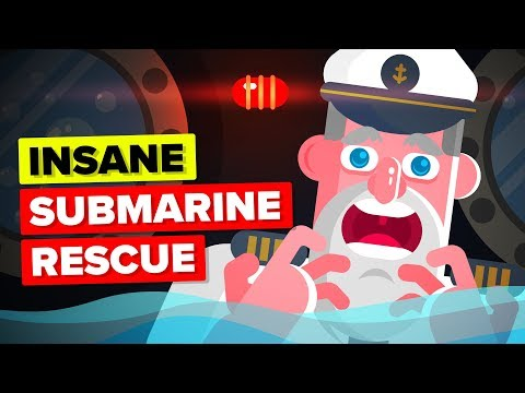 The Greatest Submarine Rescue Ever  - Escaping Sinking Submarine USS Squalus