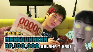 Video WEEK 10 : HANYA MENGGUNAKAN 100RB DOANG SEMINGGU! MP3, 3GP, MP4, WEBM, AVI, FLV Juli 2018