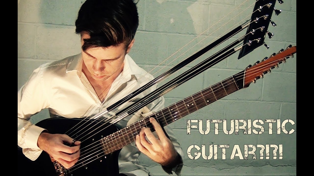 Welcome to the Machine (Pink Floyd) – Electric Harp Guitar – Jamie Dupuis
