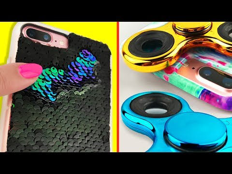 DIY PHONE CASES - 4 VIRAL Phone Cases You NEED To Try!
