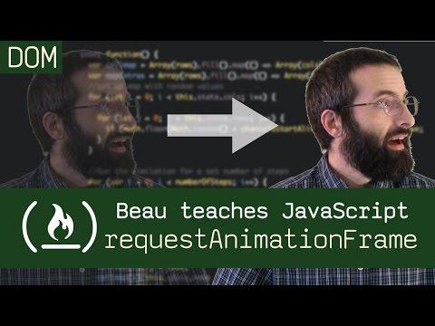 requestAnimationFrame() - Beau teaches JavaScript (видео)