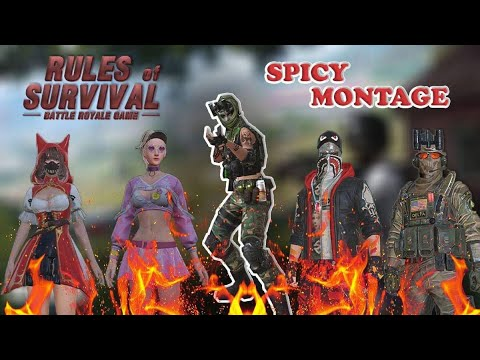 Season 5 INSANE MOMENTS! • Spicy Kill Montage [ Rules of Survival ]