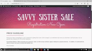 Savvy Sister - How to enter clothing items into MyCM