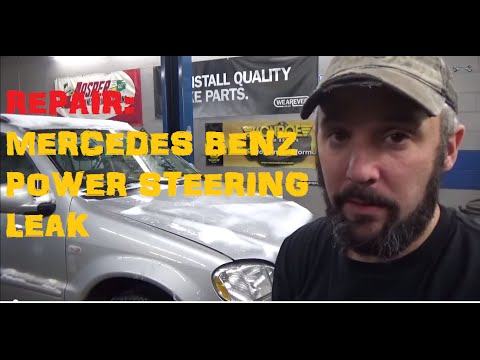 Mercedes Benz Power Steering Leak
