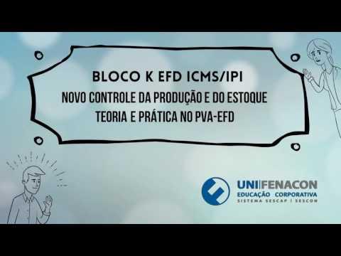 Curso UniFenacon Bloco K