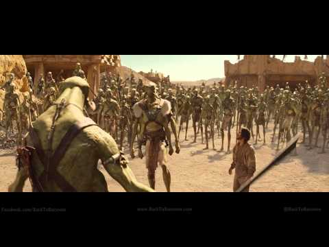 John Carter of Mars Trailer