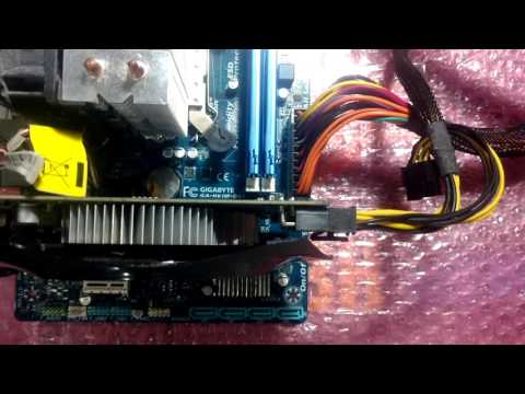 Gigabyte GA-H61M-DS2-Test (видео)