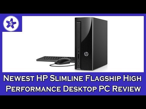 Newest HP Slimline Flagship High Performance Desktop PC Review: Intel Core i7-7700T Quad-Core