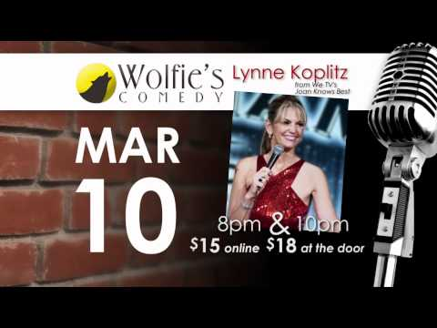March 10 - Lynne Koplitz (from WeTV's Joan Knows Best)