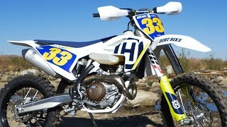 1. 2018 Husqvarna FX450 - Dirt Bike Magazine